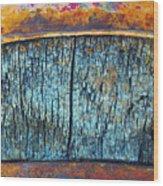 The Wheelbarrow Wood Print