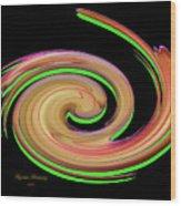 The Whirl Of Life, W13.1b Wood Print