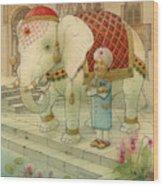 The White Elephant 05 Wood Print
