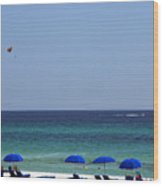 The White Panama City Beach - Before The Oil Spill Wood Print
