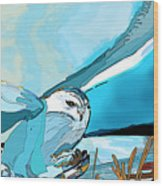 The White Sage's Hunt Wood Print