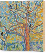 The Wind Dancers Wood Print