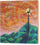 The Wind Wood Print