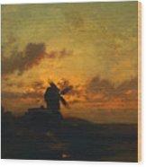 The Windmill 1859 Wood Print