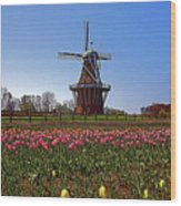 The Windmill Poster Wood Print
