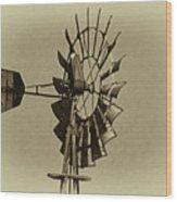 The Windmills Of My Mind Wood Print