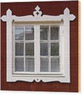The Window 3 Wood Print