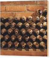 The Wine Cellar II Wood Print