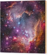 The Wing Of The Small Magellanic Cloud Wood Print