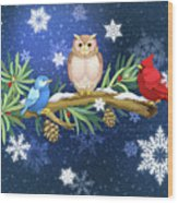 The Winter Watch Wood Print