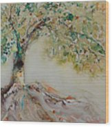 The Wisdom Tree Wood Print