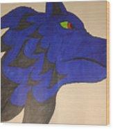 The Wolf Wood Print