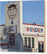 The Wonder Bar, Asbury Park Wood Print