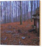 The Wood A La Magritte - Il Bosco A La Magritte Wood Print