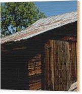 The Wood Shed Wood Print