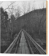 The Wooden Bridge Wood Print