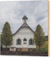 The Woodrow Union Church In Paw Paw West Virginia Wood Print
