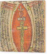 The Wounds Of Christ With The Symbols Of The Passion Wood Print