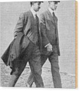 The Wright Brothers, Us Aviation Pioneers Wood Print