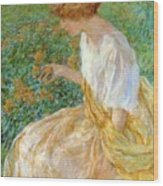 The Yellow Flower 1908 Wood Print