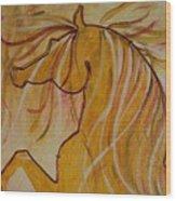 The Yellow  Wood Print