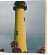 The Yellow Lighthouse Wood Print