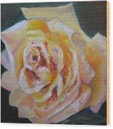 The Yellow Rose Wood Print