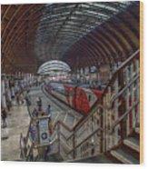 The York Train Station Wood Print