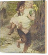 The Young Gallant Wood Print