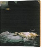 The Young Martyr  Wood Print