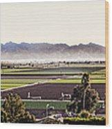 The Yuma Valley Wood Print