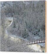 The Zen Of Bridge 5 Wood Print