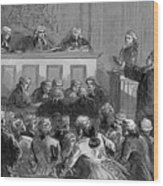 The Zenger Case, 1735 Wood Print by Photo Researchers