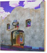 Theater Night Mesilla Wood Print