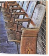 Theatre Seating Wood Print