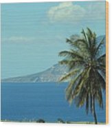 Thecaribbean  Island Of St Eustatius Wood Print