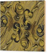 Theme From Indestructible Metamorphosis Wood Print