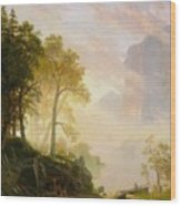The_merced_river_in_yosemite Wood Print