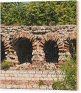Theodosian Walls - View 13 Wood Print