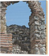 Theodosian Walls - View 17 Wood Print