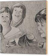 Therese  Wood Print