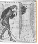 Theseus Wood Print