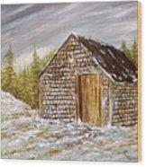Thewoodshed Wood Print