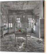 They Are All Gone - Se Ne Sono Andati Tutti Wood Print