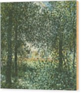 Thicket  The House Of Argenteuil Wood Print