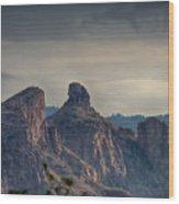 Thimble Peak Sunrise Wood Print
