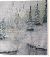 Thin Ice Wood Print