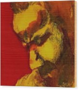 Thinking Man  Wood Print