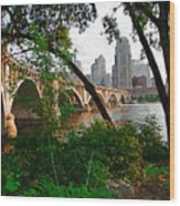 Third Avenue Bridge Wood Print