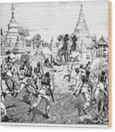 Third Burmese War, 1885 Wood Print